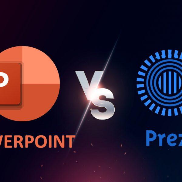 POwerPoint vs Prezi Title