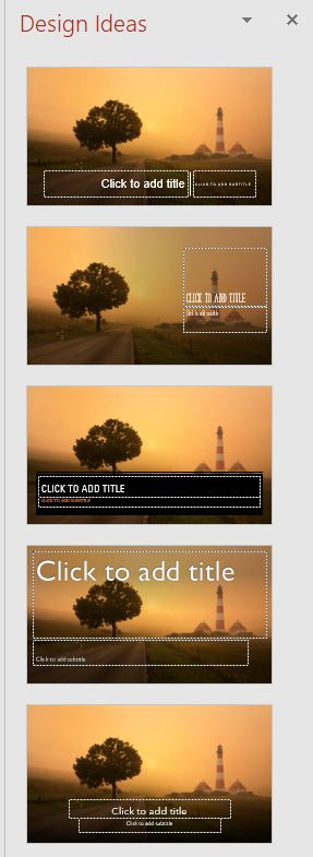 Design Ideas Template for PowerPoint