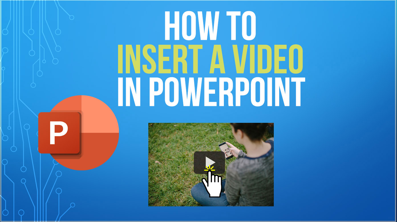 how to insert a video in PowerPoint