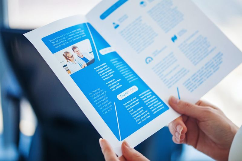 Consider brochures in addition to the digital presentation component.